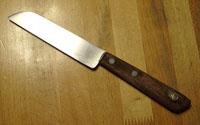 30年以上使っている果物ナイフ